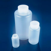 Dynalon 301635-0016, Bottles, Polypropylene, Wide Mouth 16 oz bulk - Pkg Qty 100