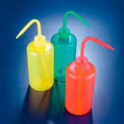 Dynalon 506785-0500, Wash Bottle, LDPE, Yellow 500mL - Pkg Qty 5