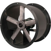 Continental Fan ADD18-1-1 Tube Axial Fan Direct Drive Single Phase 4600 CFM 1 HP