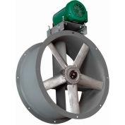Continental Fan AIB48-7-1/2 Tube Axial Fan Belt Drive Three Phase 29000 CFM 7 1/2 HP