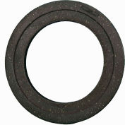 Cortina Traffic Barrel Drum Base, 40 Lb., Recycled Rubber Base, Round, 03-732-40