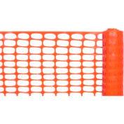 Lightweight Barrier Fence, Orange 4'W X 100'L