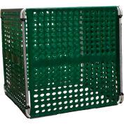 """Cortina Modular Barricade System, 48"""" x 48"""", Green, 03-907"""