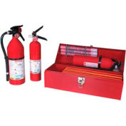 Fleet Safety Kit W/ 2  3/4Lb Fire Extinguishers