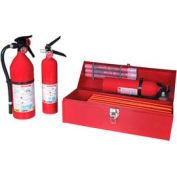 Fleet Safety Kit W/ 2  3/4Lb Fire Extinguishers