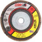 "Cgw Camel Grinding Wheels 4-1/2""X7/8"" T29 Z3 Zirconia Xxl 60 Grit Flap Disc - Pkg Qty 10"