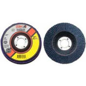 "CGW Abrasives 42126 Abrasive Flap Disc 4"" x 5/8"" 120 Grit Zirconia - Pkg Qty 10"
