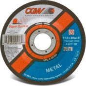 "CGW Abrasives 45103 Cut-Off Wheel 4-1/2"" x 7/8"" 60 Grit Type 27 Aluminum Oxide - Pkg Qty 50"