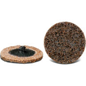 """CGW Abrasives 59508 Quick Change Discs - Roll On, Non Woven 3"""" VF Grit - Pkg Qty 25"""