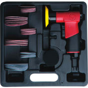 "Chicago Pneumatic CP7200S, Mini Pistol Random Orbital Sander, 2"" And 3"" Hook & Loop Pads, 15000 RPM"