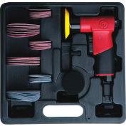 "Chicago Pneumatic, Mini Pistol Random Orbital Sander, 2"" And 3"" Hook & Loop Pads, CP7200S, 15000 RPM"