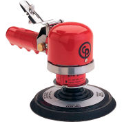 "Chicago Pneumatic, 6"" Dual Action Sander, CP870, 10,000 RPM, 3/8"" Hose ID, 1/4"" Air Intake"