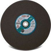 "CGW Abrasives 35602 Cut-Off Wheel 14"" x 1"" 24 Grit Type 1 Aluminum Oxide - Pkg Qty 10"