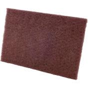 """CGW Abrasives 36288 Non-Woven Hand Pads 6""""x9"""" Fine Grit Aluminum Oxide - Pkg Qty 100"""