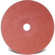 """CGW Abrasives 48032 Resin Fibre Disc 7"""" DIA 36 Grit Aluminum Oxide - Pkg Qty 25"""