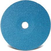 "CGW Abrasives 48102 Resin Fibre Disc 4-1/2"" DIA 36 Grit Zirconia - Pkg Qty 25"