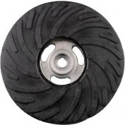 """CGW Abrasives 48220 Air-Cooled Rubber Back-Up Pads 4-1/2""""x5/8-11"""""""