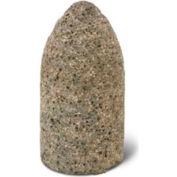 "GCW Abrasives Cone Flat Tip  1-1/2"" x 3"" - 5/8-11 Shank, 16, Pink - Pkg Qty 10"