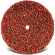 "CGW Abrasives 70046 Ez Strip Wheels, Non-Woven 4"" Course Aluminum Oxide - Pkg Qty 10"