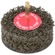 "CGW Abrasives 70054 Ez Strip Wheels, Non-Woven 4"" Fine Silicon Carbide - Pkg Qty 10"