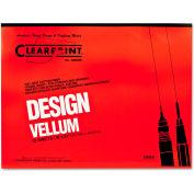 Clearprint® Design Vellum Paper, 16lb, White, 18 x 24, 50 Sheets/Pad