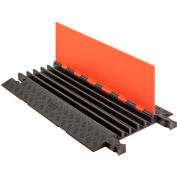 Checkers Guard Dog®5 CH Cable Protector -Orange Lid/Black Base