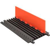 Guard Dog® Low Profile, 5 CH - Orange Lid/Black Base