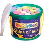 "Chenille Kraft® Creativity Street Sidewalk Chalk, 4""H x 1""Dia, Assorted, 20 Pcs/Box"