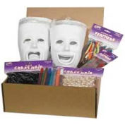 Chenille Kraft® Plastic Masks Activities Kit, 1 Kit