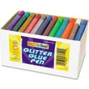 Chenille Kraft® Glitter Glue Pens Classpack, 12 Color Set, 72 Pcs/Set