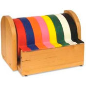 Chenille Kraft® Wood Tape Holder, Holds 8 Rolls, Natural