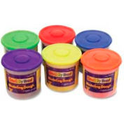 Chenille Kraft® Modeling Dough, Nontoxic, Assorted, 6/Pack