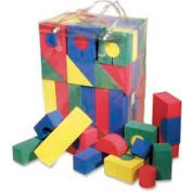 Chenille Kraft® WonderFoam® Blocks, Assorted, 68 Pcs/Pack
