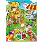 Chenille Kraft® Land of Nutrition Giant Puzzle, 63 Pieces/Set