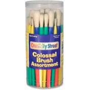 Chenille Kraft® Colossal Brushes & Holder Assortment, Assorted, 58 Pcs/Set
