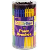 Chenille Kraft® Economy Brushes Canister, 6 Color Set, 144 Pcs/Set