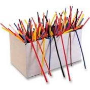 "Chenille Kraft® Chenille Stems Classpack, 4mm x 12""L, Assorted, 1000/Box"