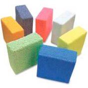 ChenilleKraft Squishy Foam Block, CKC9650, Assorted Colors, 7 Pieces/Set