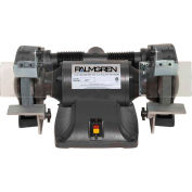 "Palmgren 9682081 Bench Grinder W/Wheel Guards & Dust Collection Ports , 8"" Wheel Dia"
