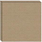 Hush™ Acoustical Wall Tile 15x75x15, 9085.4061 Natural - Pkg Qty 4