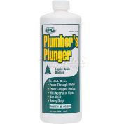 Plumbers Plunger™ Liquid Drain Opener, Non-Acid, 1 Qt. - Pkg Qty 12