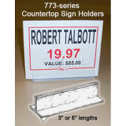 "Countertop Sign Holder 6""L"