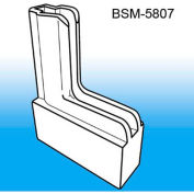 """Boot System™ Magnetic Base Sign Holder System, 1/2""""L x 2-1/4""""W, White - Pkg Qty 100"""
