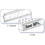 """C-Channel 1-1/4"""" X 48""""L Clear"""
