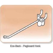 """Pegboard & Slatwall Hook, Eco-Back, 4"""" Long"""