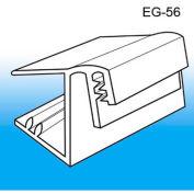 "Grip-Tite™ Wood Shelf Edge Sign Holder, 1-1/2""L x 1""W, Clear"