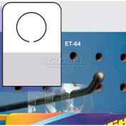 "Hang Tab System, 7/16"" Hole Dia., 7/8""W X 1-1/4""H"