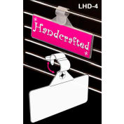 "Secure-Lok™ Label Holder, 1-1/4""L x 3-1/2""W, Clear"