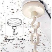 "Magnetic Hook, 1-1/4""Dia."