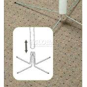 """Wire Pole Feet Pole, 1-1/2"""" I.D. - Pkg Qty 50"""